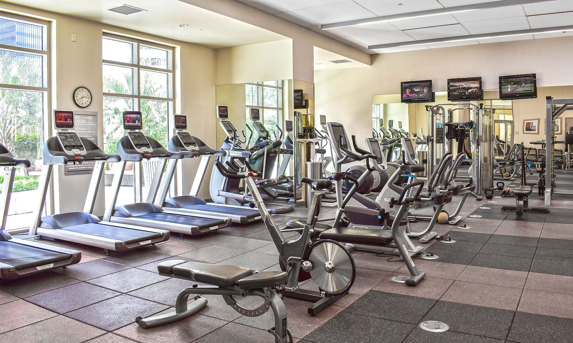Fitness Center | One Park Place Luxury Apartments Near Me